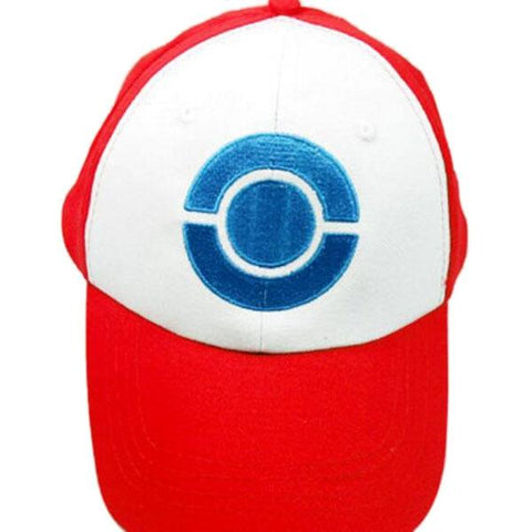 POKEMON Anime Cosplay Pocket Monster Ash Ketchum Baseball Trainer Hat #03 Red