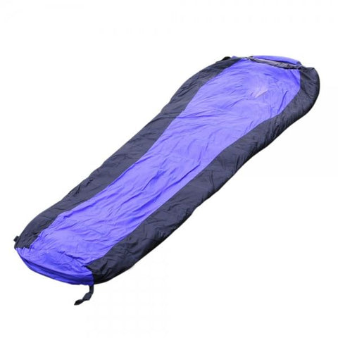 Winter Lovers Duck Down Sleeping Bag Camping Outdoor Blue