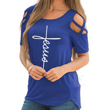 Jesus Cross Sleeve T-shirt