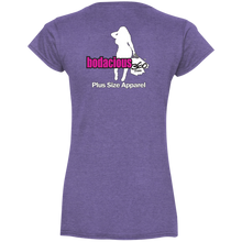 Ladies' Fitted V-Neck T-Shirt
