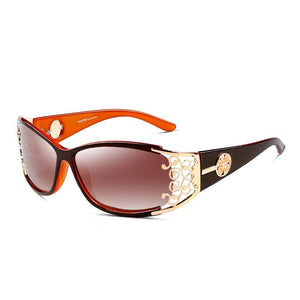 Polarized Retro Luxury Lace Anti-Reflective Sunglasses
