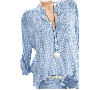 Printed Quarter Sleeve Top