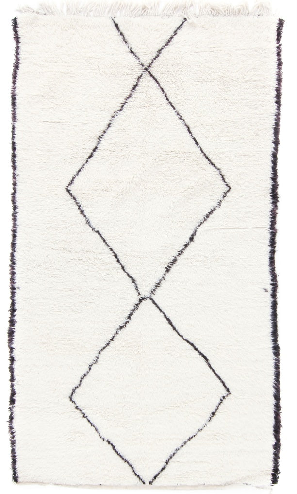 Moroccan Rug | Beni Ourain D1