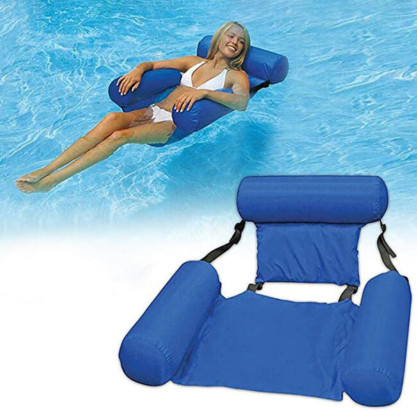 Foldable Inflatable Pool Float Sofa Water Chair