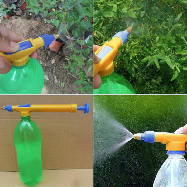 Plastic Sprayer Head Garden Bonsai Pressure Sprayer Mini Trolley Gun