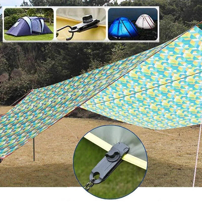10Pcs Outdoors Camping Tarp Clips