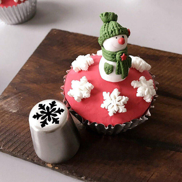 15Pcs Christmas Cake Icing Piping Tips