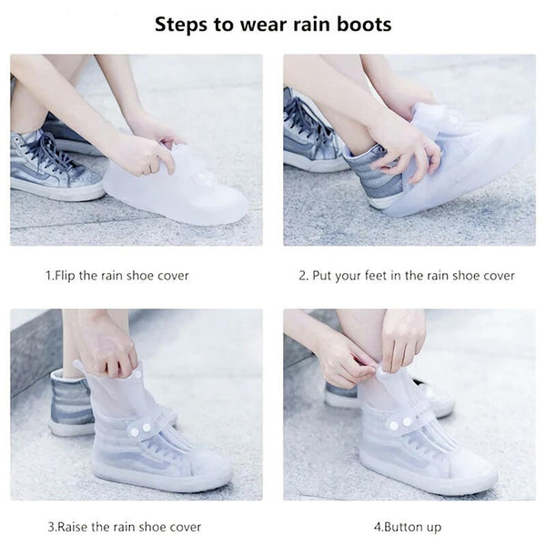 Outdoor Portable Waterproof Shoe Cover