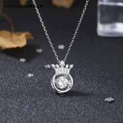 Hollow Out Rhinestone Smart Necklace