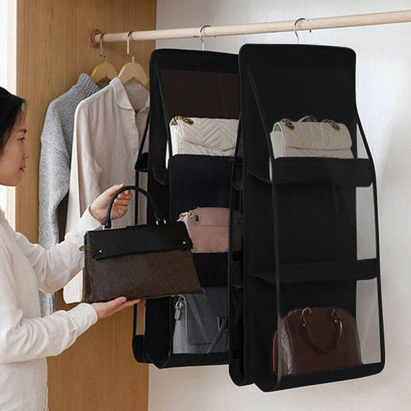 6 Pocket Foldable Hanging Storage Bag