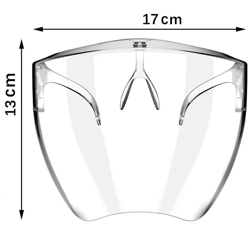 Anti-Fog And Scratch-resistantTransparent Face Shield