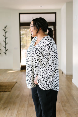Water Spots Blouse