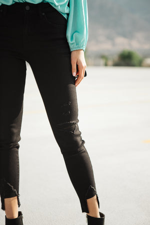 A Notch Above Black Jeans