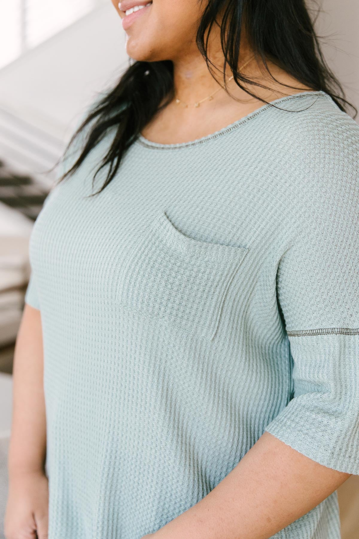 Always Be Yours Top in Sage