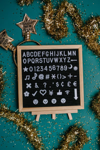 Let Lettering Lift Your Spirits Felt Board Set