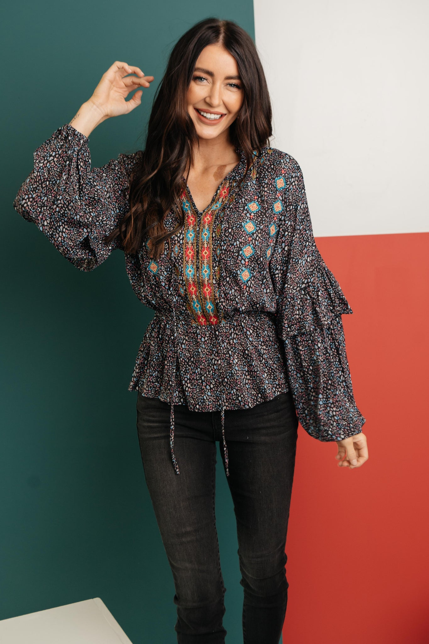 The Busy Body Blouse