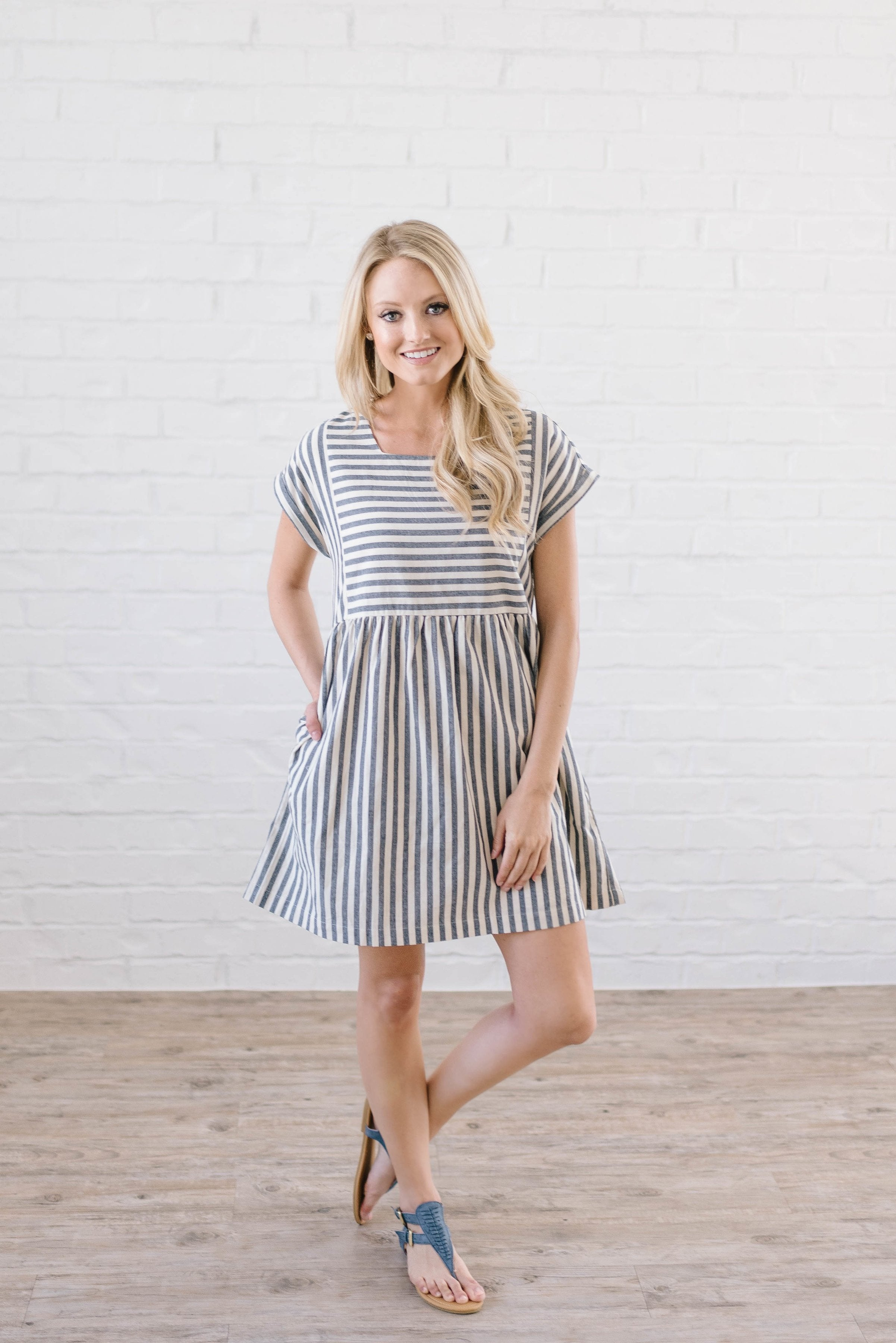 Coastal Blues Dress