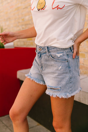 End Of Summer Cutoff Shorts