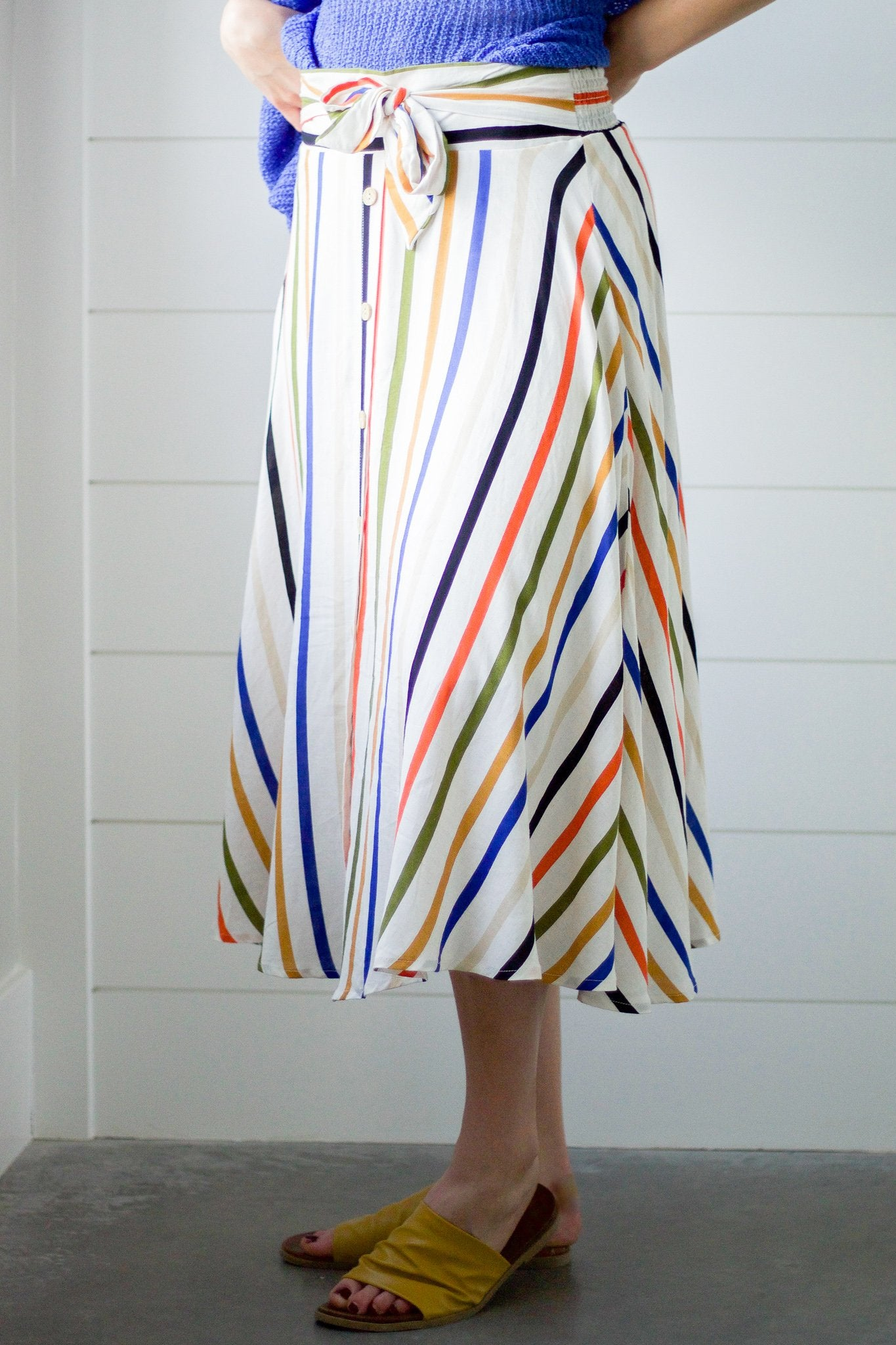 Indian Summer Striped Skirt