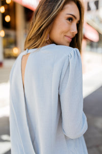 Lily Of The Valley Sweater In Gray