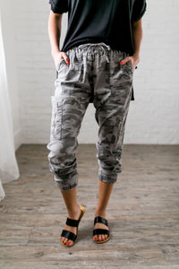 Retired Soldier Camo Joggers
