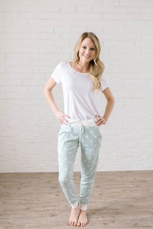 Sweet Dreams Joggers in Mint