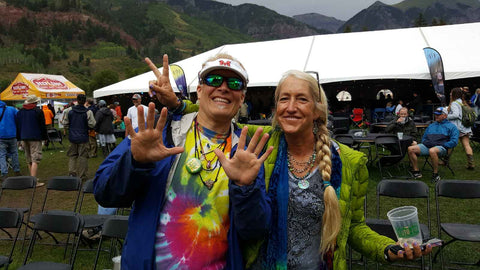 Ian and friend at 7th Annual Telluride Music Festival