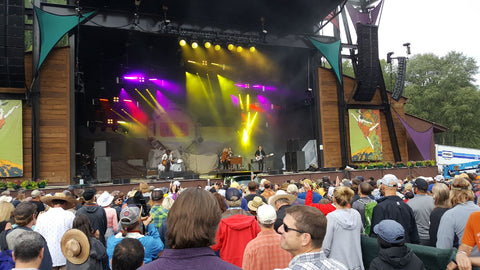 Band playing at Telluride Music Festival 2018