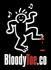 BloodyToe.co logo