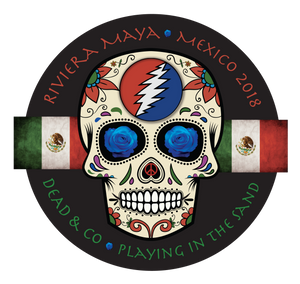 "2018 Playing in the Sand 4"" Round Sticker"