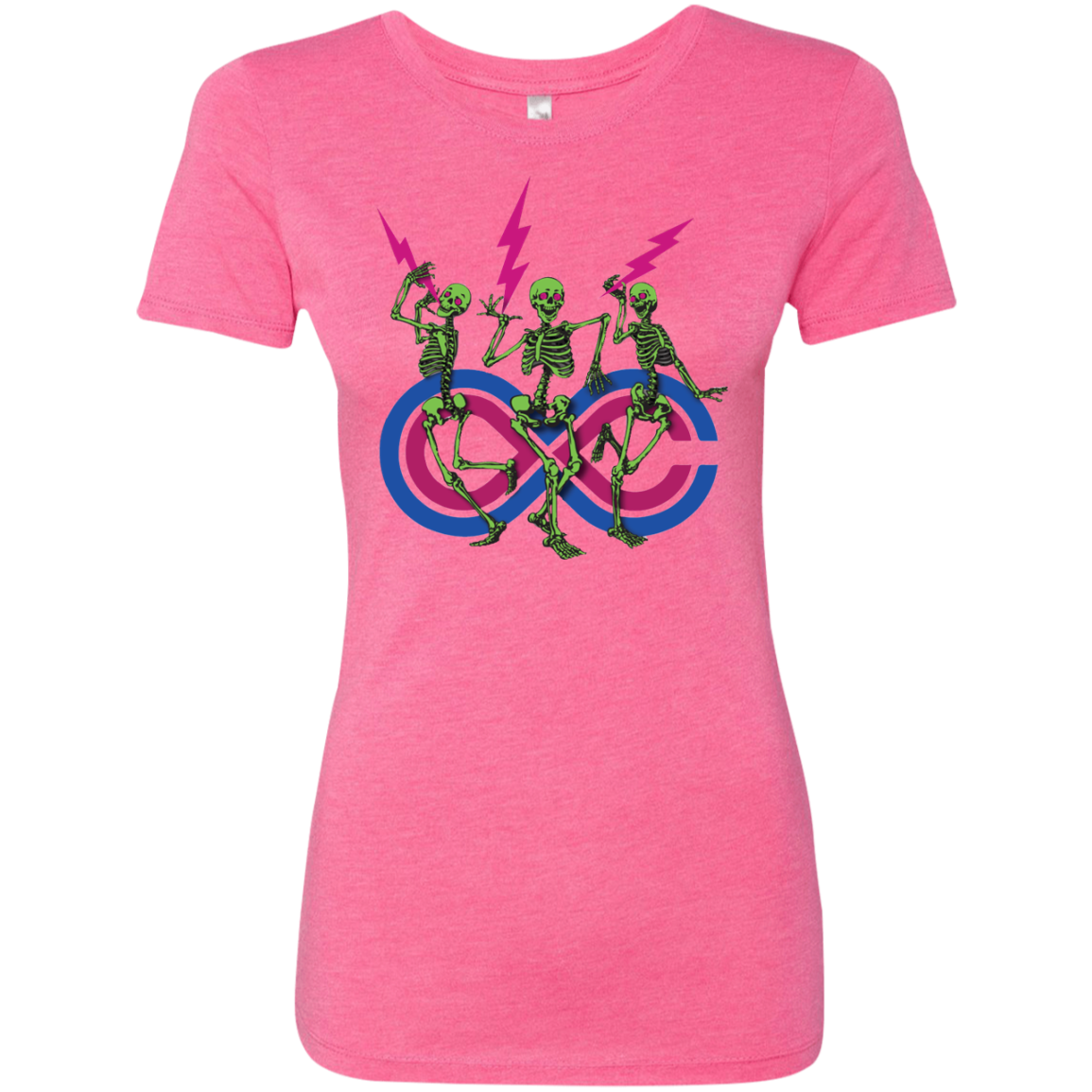 "2018 Lockn' Festival ""Skully Jammers"" Next Level Ladies' Triblend T-Shirt - 10 Color Options"