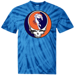 Broncos Horse One of a Kind Grateful Dead Design Tie Dye T-Shirt
