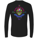 "2018 Lockn' Festival ""The Music Never Stopped"" Men's Next Level Long Sleeve T-Shirt - 10 Color Options"
