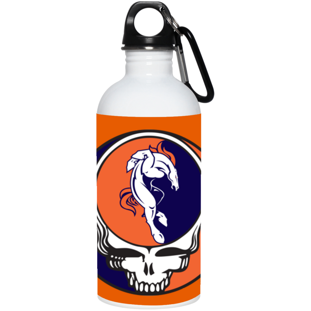 Broncos Horse Grateful Dead 20 oz. Stainless Steel Water Bottle