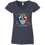 "2018 Playing in the Sand ""Day of the Grateful Dead"" Gildan Ladies' Fitted Softstyle V-Neck - 8 Color Options"