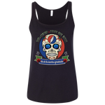 "2018 Playing in the Sand ""Day of the Grateful Dead"" Bella+Canvas Ladies' Relaxed Jersey Tank - 5 Color Options"