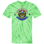 """The Music Never Stopped"" 100% Cotton Tie Dye T-Shirt"