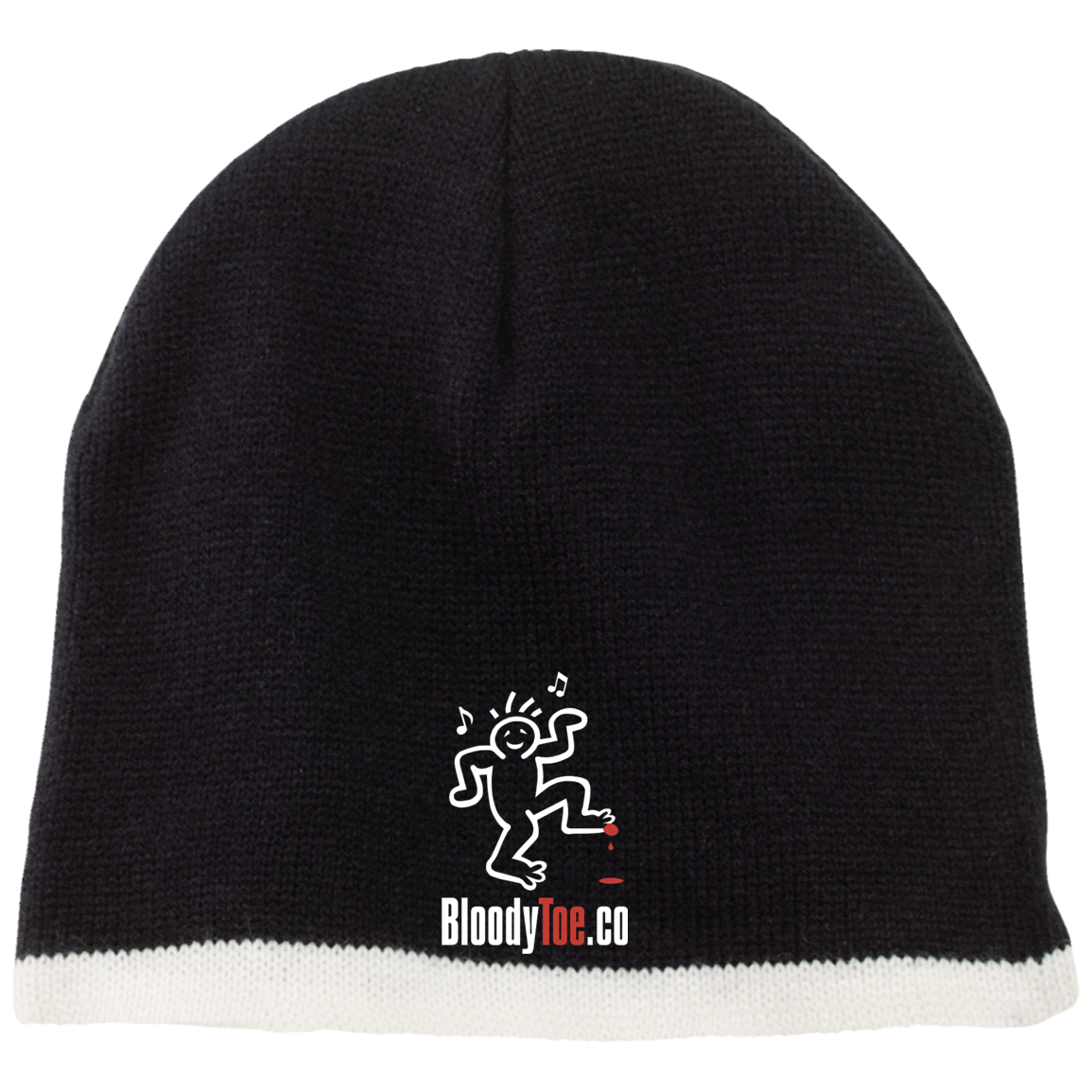 BloodyToe.co Dancing Boy Beanie