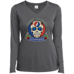 "2018 Playing in the Sand ""Day of the Grateful Dead"" Ladies' Sport-Tek Long Sleeve Performance V-Neck T-Shirt - 9 Color Options"