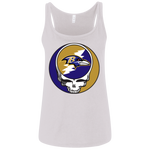 Ravens Grateful Dead Design Ladies' Relaxed Jersey Tank Top