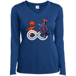 "2017 Lockn' Festival ""Déjà Vu"" Ladies' Sport-Tek Long Sleeve Performance V-Neck T-Shirt - 7 Color Options"