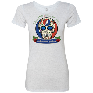 "2018 Playing in the Sand ""Day of the Grateful Dead"" Next Level Ladies' Triblend T-Shirt - 8 Color Options"