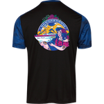 Jam Cruise Grateful Dead Men's Sport-Tek CamoHex Colorblock Tee