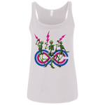 "2018 Lockn' Festival ""Skully Jammers"" Bella+Canvas Ladies' Relaxed Jersey Tank - 6 Color Options"