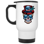Jam Cruisin' 2020 Captain Voodoo White Stainless Travel Mug