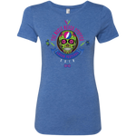 "2018 Lockn' Festival ""The Music Never Stopped"" Next Level Ladies' Triblend T-Shirt - 10 Color Options"