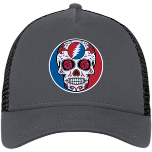 "One of a Kind ""Day of the Grateful Dead"" New Era® Snapback Trucker Cap"