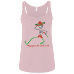 "2018 Playing in the Sand ""Skully Dancer"" Bella+Canvas Ladies' Relaxed Jersey Tank - 6 Color Options"