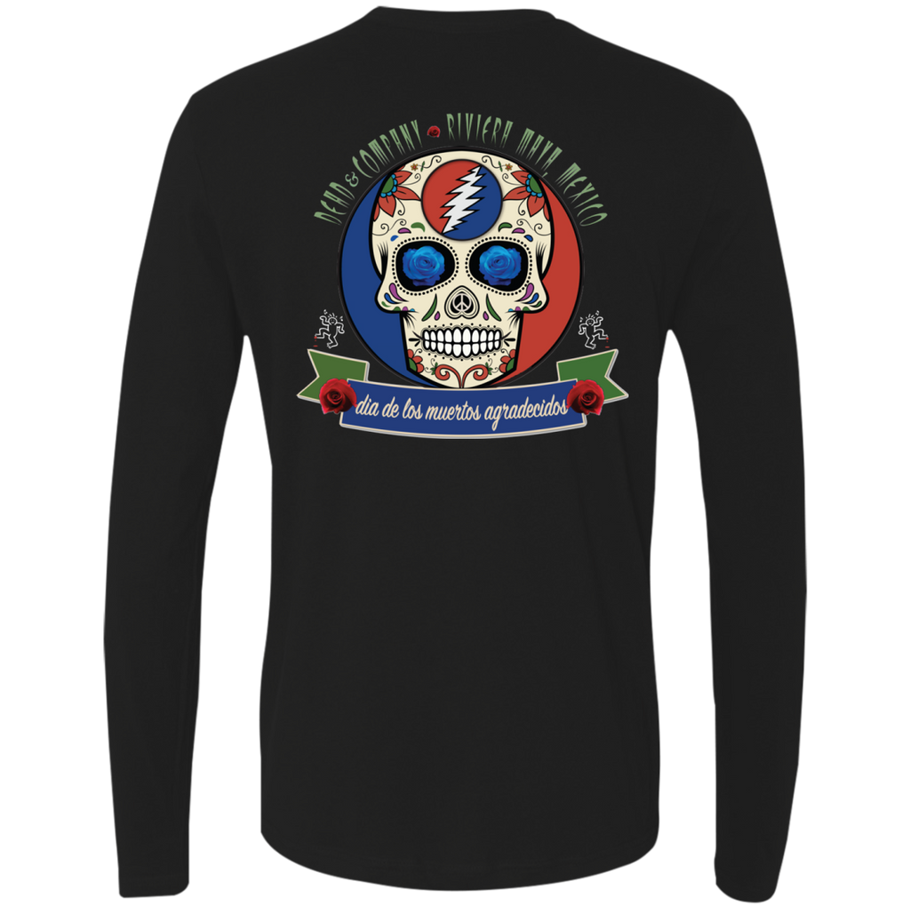 "2018 Playing in the Sand ""Day of the Grateful Dead"" Men's Next Level Long Sleeve T-Shirt - 10 Color Options"