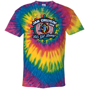 Jam Cruisin' 2020 Let's Get Looney Tie Dye T-Shirt